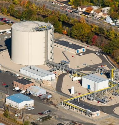 Yankee Gas LNG Peakshaving Facility