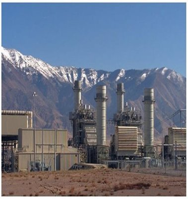 Currant Creek Gas-Fired Power Plant