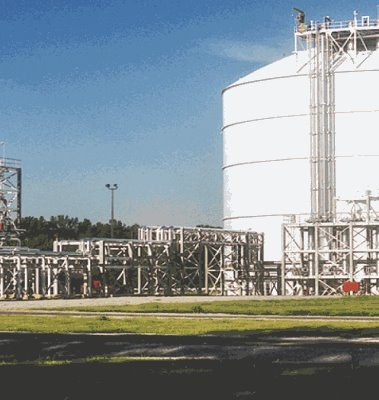Memphis LNG Peak Shaving Facility