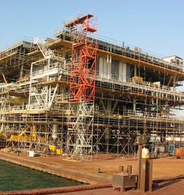 Khuff Gas Development Platform