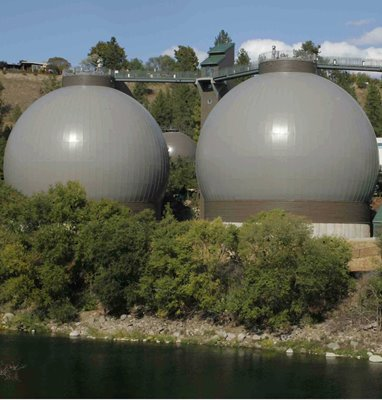 City of Spokane Egg-Shaped Digesters