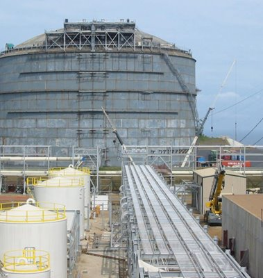 LNG Storage Facility for E.G. LNG Train 1